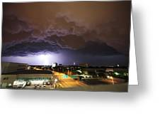 Underside Of The Storm Greeting Card