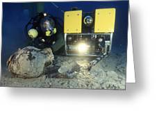 Underwater Archaeology Greeting Card