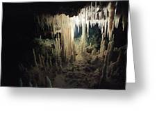 Underwater Cave Greeting Card