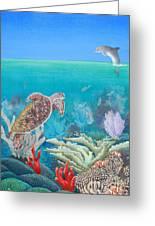 Underwater Glory Greeting Card