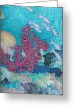 Underwater Splendor I Greeting Card by Denise Hoag