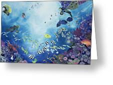 Underwater World IIi Greeting Card