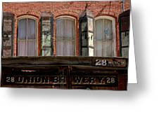 Union Brewery Virginia City Nv Greeting Card