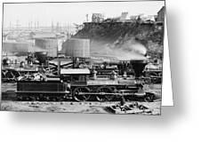 Union Locomotive, C1864 Greeting Card
