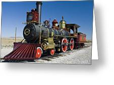 Union Pacific 119  Left Greeting Card