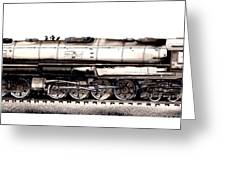 Union Pacific 4-8-8-4 Steam Engine Big Boy 4005 Greeting Card