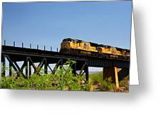 Union Pacific 5145 Greeting Card