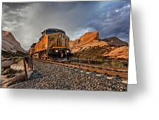 Union Pacific 6807 Greeting Card