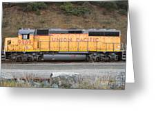 Union Pacific Locomotive . 7d10569 Greeting Card