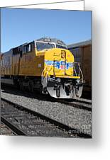 Union Pacific Locomotive Trains . 5d18821 Greeting Card