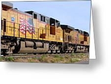 Union Pacific Train Greeting Card