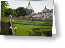 Union Terrace Gardens Aberdeen Greeting Card by Karen Kennedy