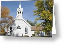 United Methodist Church Townsend Mt Greeting Card