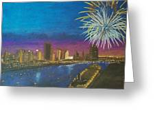 United Moments Of America Greeting Card