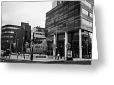 university of strathclyde buildings in Glasgow Scotland UK Greeting Card
