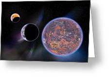 Unknown Worlds Greeting Card