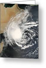 Unnamed Tropical Cyclone Approaching Greeting Card