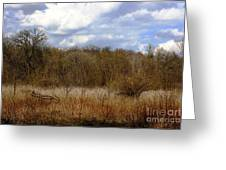 Unspoiled Prairie Landscape Greeting Card