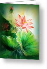 Unspoken Greeting Card by Wendy Wiese