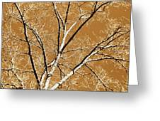 Untitled Tree Greeting Card by Carrie Kouri