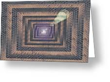 Unto Infinity Greeting Card