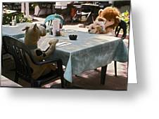 Unusual Diners Greeting Card