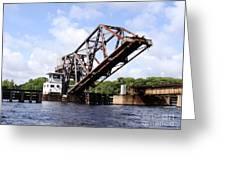 Up Good Bridge Greeting Card