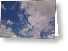 Up In The Clouds 3 Greeting Card