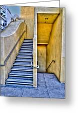 Up Stairs Down Stairs Greeting Card