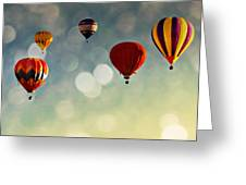 Up There Greeting Card