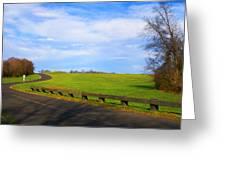 Uphill Battle Greeting Card