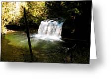 Upper Butte Creek Falls 2 Greeting Card
