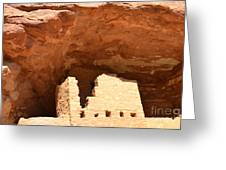 Upper Cliff Dwelling Greeting Card