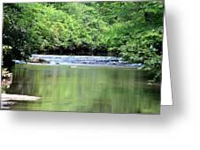 Upper Creek Reflections Greeting Card