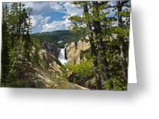 Upper Falls II Greeting Card