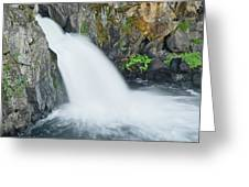 Upper Mccloud Falls 2 Greeting Card
