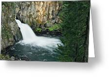 Upper Mccloud Falls Greeting Card