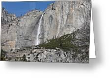 Upper Yosemite Fall Greeting Card