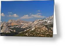 Upper Yosemite Panorama Greeting Card