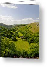 Upperdale From Monsal Head Greeting Card