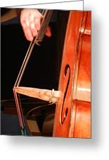 Upright Bass 1 Greeting Card