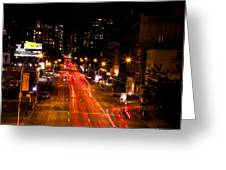 Uptown From Highline Greeting Card