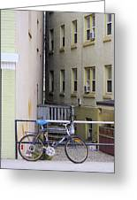 Urban Convergence Greeting Card