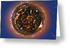 Urban Planet Greeting Card
