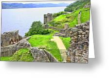 Urquhart Castle IIi Greeting Card