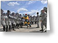 U.s. Air Force 86th Security Forces Greeting Card by Stocktrek Images
