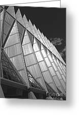 Us Air Force Academy Chapel 2 Greeting Card