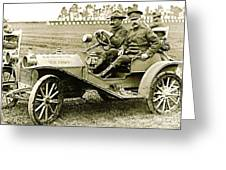 Us Army Huppmobile 1910 Greeting Card