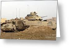 U.s. Army M2 Bradley Infantry Fighting Greeting Card