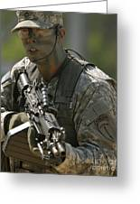 U.s. Army Ranger Greeting Card
